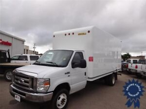 2016 Ford E-450 16 Ft Cube Van, 5.4L V8 Gas, 42,014 KMs