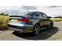 **BACK FOR HIRE** - 2017 Audi S3 Saloon 310 BHP Quattro FOR HIRE FROM £100 PER DAY