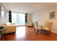 SECOND floor ONE bedroom flat in BOARDWALK PLACE, AVAILABLE NOW, 5 mins walk to CANARY WHARF