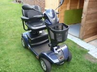 apex mobility scooter, 10 months old in excellent condition, with insruction manule