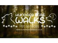 Professional Dog walker + Pet Care. Dog walking, house visits for puppies, cats etc and boarding