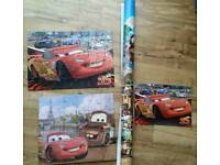 Disney Cars Poster and Puzzles