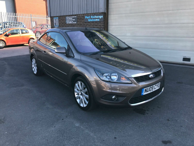 2009 FORD FOCUS CC 2.0 CC-3 143 BHP, CONVERTIBLE,ONLY 71000 MILES WARRANTED.