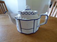 Vintage WhiteWare Teapot