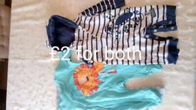 0-3 months old Boys clothes