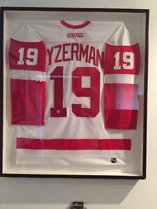 Steve Yzerman #19 Signed & Framed