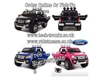 Ford Ranger In Stock Black, Blue, Pink Parental Remote Control,Self Drive