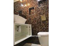 Complete bathroom refurbishment/tilling/plumbing.