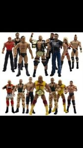 Wanted wwe/wwf wrestlers and ring