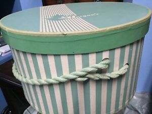 Vintage Morgan's Hat Box