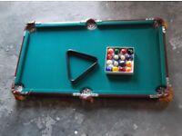 Junior Snooker Table