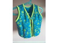 Child's Speedo swimming float vest 2-3 years