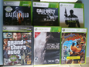 Xbox One and Xbox 360 Games [Like-New]