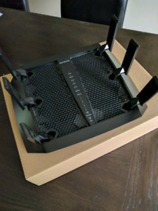 Netgear x6 R8000 tri-band router