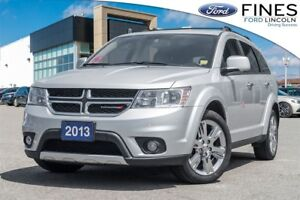 2013 Dodge Journey R/T - AWD, LEATHER, ROOF, NAVI!