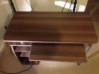 Office Desk, Dark Brown. (£40 ONO) Good Condition.