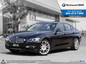 2014 BMW 3 Series 328i Xdrive Premium, Modern, Connecteddrive!