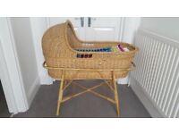 Traditional baby crib