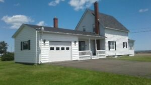 waterfront home for sale in cocagne. PRICE REDUCED 10,000.00 !!