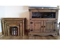 TV Cabinet & Nested Tables