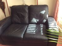 Two and three leather seaters
