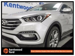 2017 Hyundai Santa Fe Sport 2.0T Limited AWD twin panel sunroof,