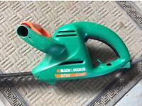 Black and decker hedgecutter