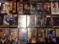 20 James Bond 007 VHS videos including 1 special edition and 2 from Russia With Love