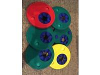 6 x Delphin swim discs/arm bands