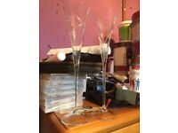 Wedding Champagne Flutes Bride & Groom Gift