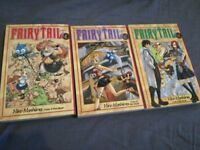 Fairy tail vol 1-3 £15