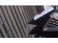 Honda CBF 125 cc 2014 plate
