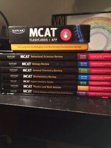CURRENT MCAT BOOKS + Flashcards