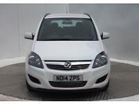 Vauxhall Zafira EXCLUSIV CDTI ECOFLEX (white) 2014-07-17