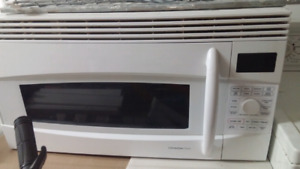 GE. Over the range microwave oven fan