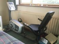 Body Sculpture RC-3310 recumbent exercise bike. Hardly used, perfect working order.