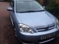Toyota Corolla 1.4 VVT-i Colour Collection 5dr 2006 (well maintained)