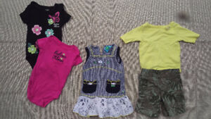 12M GIRLS OUTFITS