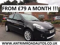2011 RENAULT CLIO 1.2 DYNAMIQUE TOMTOM ** 50,000 MILES ** FINANCE AVAILABLE **