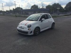 2013 Fiat 500 TURBO, SUNROOF, LEAT