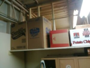 25 + boxes for moving