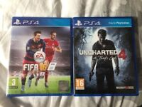 PlayStation 4, 1tb, boxed with 3 games.