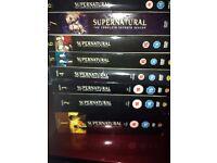 Supernatural DVDs season 1 - 8