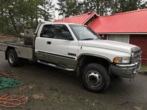 2002 Dodge Power Ram 3500 WITH OUT DECK
