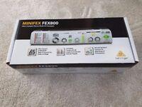 BEHRINGERFEX800MINIFEX 24 Bit Stereo Multi-FX Processor