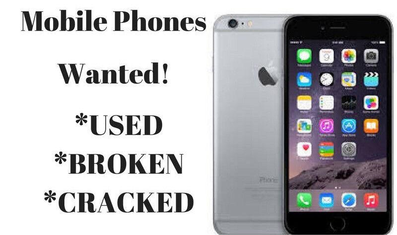 Buying Cracked, Broken, Damaged phones