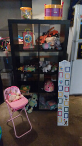 Mix of baby and kids items