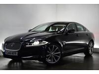 JAGUAR XF 3.0 V6 PREMIUM LUXURY 4d AUTO 240 BHP (black) 2012