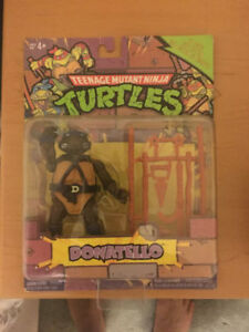 TMNT Ninja Turtles/Tortues Ninja Donatello 1987 Figurine NEUF
