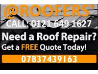 @ROOFERS - No.'1' Roof Repairs* FREE CALL-OUT & QUOTES! Call: RICHARD -01216491627 -07837439163